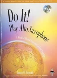 M464 - Do It! Play Alto Saxophone Book 1 - Book & CD