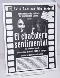 image of Latin American Film Series: The Helen Kellog Institute for International Studies presents El Chacotero Sentimental (The Sentimental Teaser). Wednesday, March 7, 2001 at 7:00 pm, Hesburgh Center Auditorium