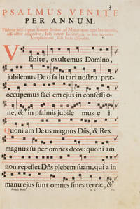 Antiphonarium Romanum de tempore et sanctis  ad normam Breviarii ex decreto sacrosancti Concilii Tridentini restitut, S. Pii V Pontificis Maximi iussu editi ..