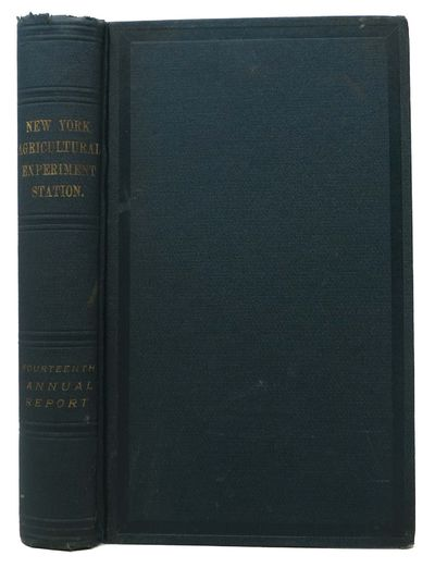 Albany & New York: Wynkoop Hallenbeck Crawford Co, 1896. Green cloth with gilt spine lettering. VG (...