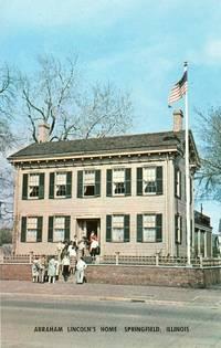 Abraham Lincoln´s Home, Springfield Illinois unused Postcard