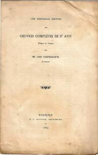 Une nouvelle édition des œuvres complètes de St Avit