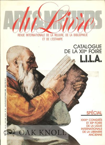 Paris: Editions Technorama, 1988. stiff paper wrappers. International League of Antiquarian Booksell...