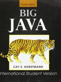 image of Big Java: for Java 7 and 8