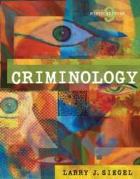 Criminology (with CD-ROM and InfoTrac) (Available Titles CengageNOW) by Larry J. Siegel - Hardcover - 2005-03-09 - from Books Express and Biblio.com