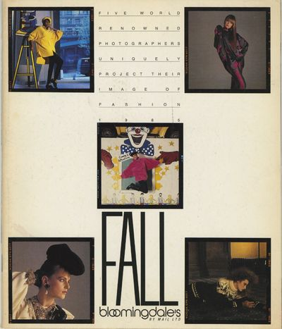 Salem, Virginia: Bloomingdale's By Mail Ltd, 1985. First edition. 4to., 79 pp., color and b&w images...
