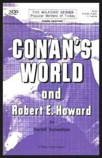 image of CONAN'S WORLD - and Robert E. Howard