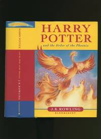Harry Potter and the Order of the Phoenix [Children's Dust Wrapper Edition] by  [born 1965]  J. K. - First Edition - 2003 - from Little Stour Books PBFA and Biblio.com