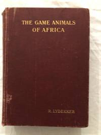 image of The Game Animals Of Africa