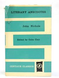 image of Literary Anecdotes of the eighteenth century. (Centaur classics)