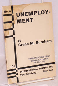 Unemployment. [cover title]. Work or wages the challenge of unemployment [caption title]