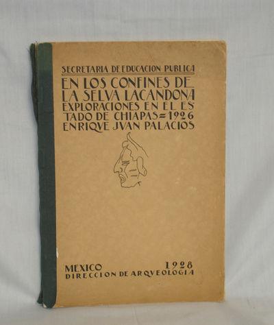 Mexico: Taileres Graficos El La Nacion, 1928. Quarto. 215p. Illustrations, some in color. Under the ...