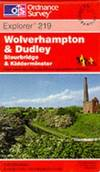 image of Wolverhampton and Dudley (Explorer Maps)