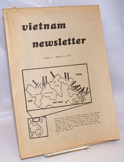 Montreal, Quebec: Union of Vietnamese in Canada, 1979. Newspaper. 39p., folded tabloid format, 8.5 x...