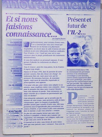 Paris: L'Association Actions Traitements, 2004. 12p., stapled wraps, 8.25 x 11.75 inches, illus., ve...