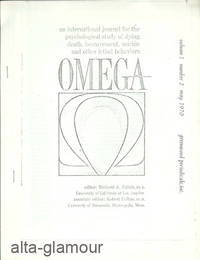 LONGEVITY AND ACHIEVEMENT IN EIGHTEENTH CENTURY SCOTLAND; Reprint from Omega: An International Journal for the Psychological Study of Dying, Death, Bereavement, Suicide and other Lethal Behaviors by  and Lucy Kluckhohn  Bonnie Bullough - 1970 - from Alta-Glamour Inc. and Biblio.co.uk