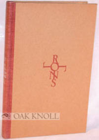 OFF THE DEAD BANK, ADDRESSES, REVIEWS AND VERSES by  C.P Rollins - Hardcover - 1949 - from Oak Knoll Books/Oak Knoll Press and Biblio.co.uk