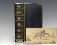 The Adventures of Don Quixote De La Mancha; Translated From the Spanish of Miguel de Cervantes Saavedra. [Fore-edge Painting].