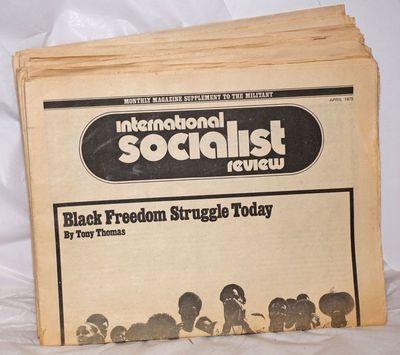 New York: International Socialist Review Publishing Association, 1981. Magazine. 45 issues, folded t...