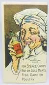 View Image 2 of 3 for Holbrook's Worcestershire Sauce Cookery Book Imported Absolutely! Inventory #2256
