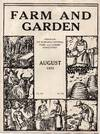 Vintage Issue of Farm and Garden Magazine for August 1925