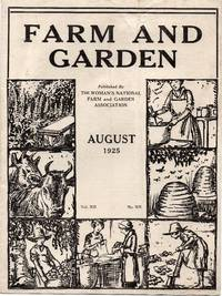 image of Vintage Issue of Farm and Garden Magazine for August 1925