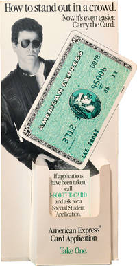 image of Original American Express display featuring Lou Reed
