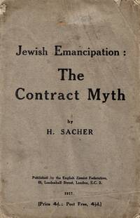 JEWISH EMANCIPATION: THE CONTRACT MYTH.