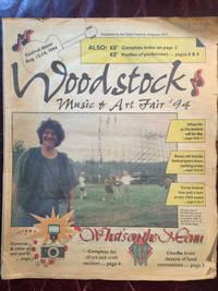 WOODSTOCK MUSIC AND ART FAIR 94  WOODSTOCK II Original 65 pp.1994 Kingston New York  Newspaper Special Publication