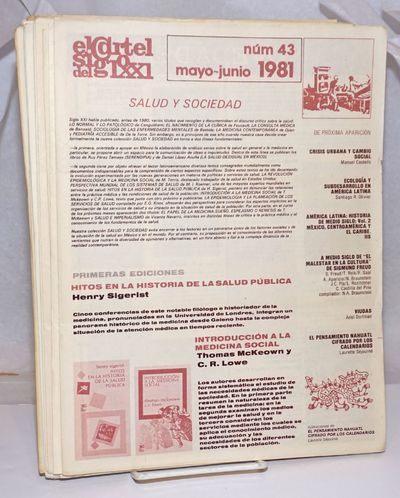 Mexico City: Siglo XXI editores, 1988. Thirteen folded newsletters, text in Spanish, illustrations, ...