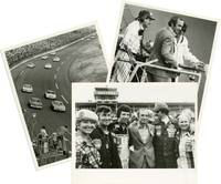 Collection of stills showing Ben Gazzara at the Daytona 500
