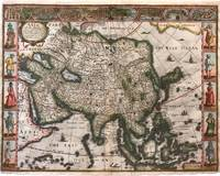 Asia with the Islands adjoyning described, the atire of the people, & Towns of importance...; John Speed Map of Asia (First British map of Asia ever published)