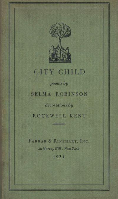 New York: Farrar & Rinehart, 1931. First edition. Hardcover. Orig. chocolate brown cloth with gilt f...