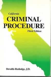 Criminal Procedure California