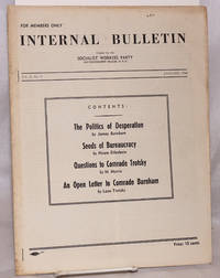 Internal bulletin, vol. 2, no. 9. January, 1940 by Socialist Workers Party - Paperback - 1940 - from Bolerium Books Inc., ABAA/ILAB and Biblio.com