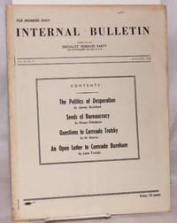Internal bulletin, vol. 2, no. 9. January, 1940