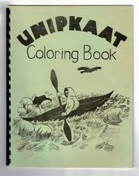 Unipkaat coloring book in Inupiat. Illustrated by Thelma Webster