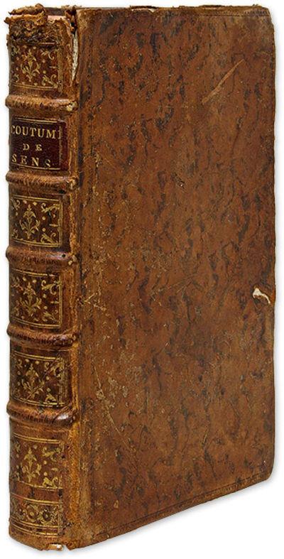 1787. A Comparative Study of the Coutumes of Sens Pelee de Chenouteau, . Conference de la Coutume de...
