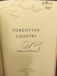 Forgotten Country (SIGNED, DATED & NYC)