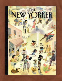 "image of The New Yorker - October 1, 2018. Marcellus Hall Cover, ""Lower East Side"". Russian Cyberattacks Won for Trump; Alejandro Escovedo; Oxford Book of Footnotes; State of Georgia's Woeful Special Education; Utah Restaurateurs Fight Trump; Kavanaugh Controversy; Fahrenheit 9/11; Hurricane Florence; Eugene Delacroix"