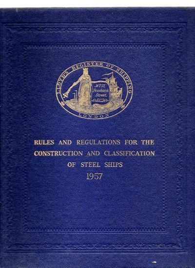 Lloyd 39 s register of shipping rules and regulations for for Construction rules and regulations