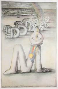 """[Affiche :] Dans ce monde de """"D"""" primés l' """"M"""" primé apporte le sourire. [Affiche pour la Fédération française de l'imprimerie et de l'industrie graphique]"""