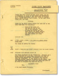 The Great McGinty [Down Went McGinty] (Original screenplay for the 1940 film)
