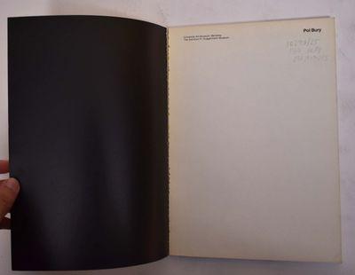 Berkeley: University Art Museum, Berkeley, 1970. Paperback. VG- light wear to extremities.. Yellow w...