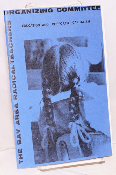 Boston, MA: New England Free Press, 1972. 39p., staplebound pamphlet, blue wraps. Reprinted from Soc...