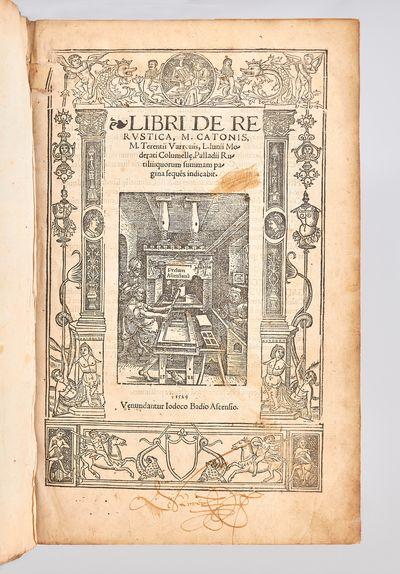 Libri de re rustica M. Catonis, M....