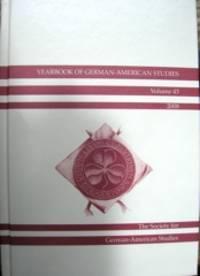 image of Yearbook of German-American Studies. Volume 43, 2008