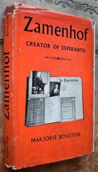 image of ZAMENHOF Creator Of Esperanto [SIGNED]