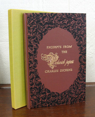 Philadelphia: Priv. Ptd - Samuel Dalton, 1968. 1st thus. #793/1300 cc. Brown decorative cloth bindin...