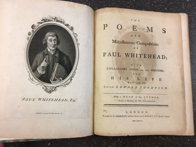 London: printed for G. Kearsley; and J. Ridley, 1777. First Edition. Hardcover. Quarto, 185 pages; V...